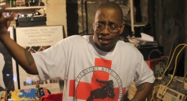 Sadat X does Karaoke in my shirt