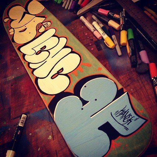 3 Amigos Skateboard